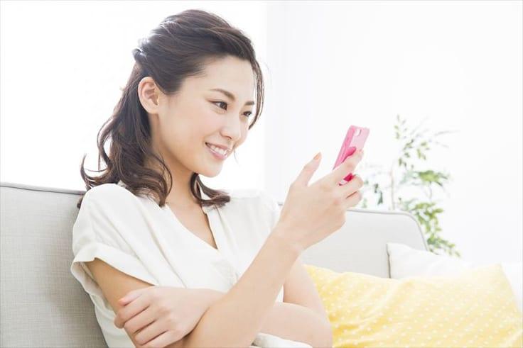 結婚目的で出会い系アプリを使う女性