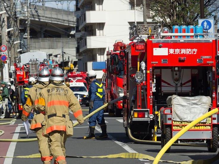 消防士の仕事について