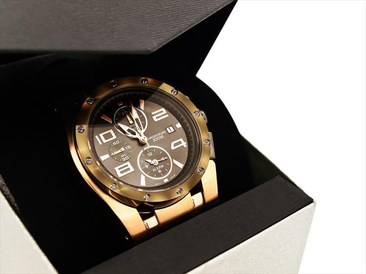 プレゼントに購入した腕時計