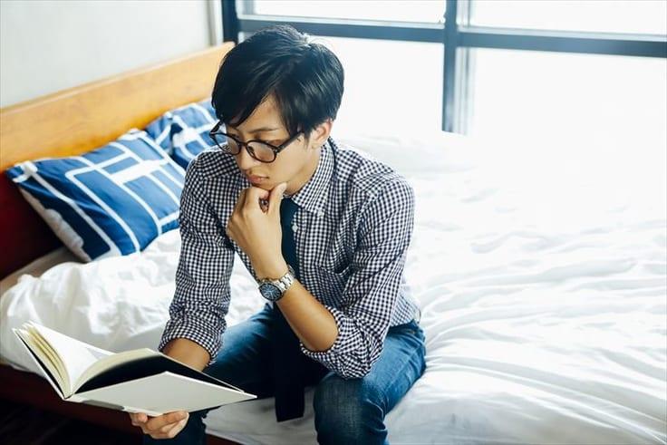 読書好きな男性の特徴について