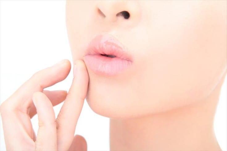 プルプルの唇