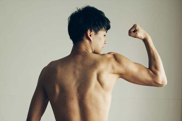 筋肉にこだわる