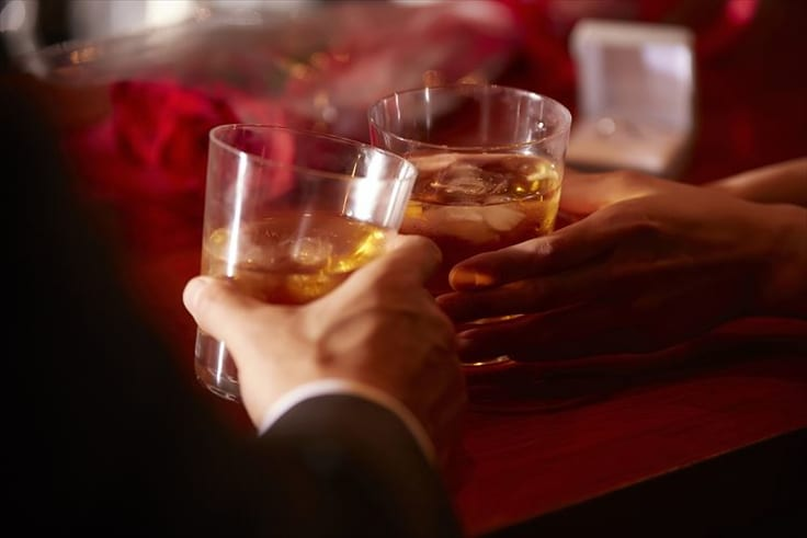ゆっくりお酒を楽しむ場所