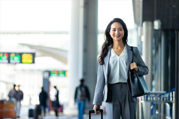 海外勤務の女性