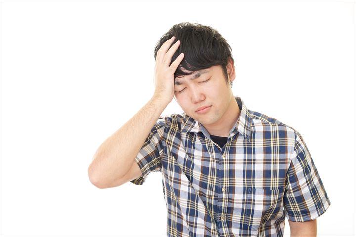 ストレスを溜めやすい男性