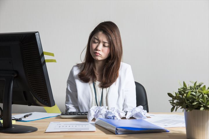 労働時間が長い女性