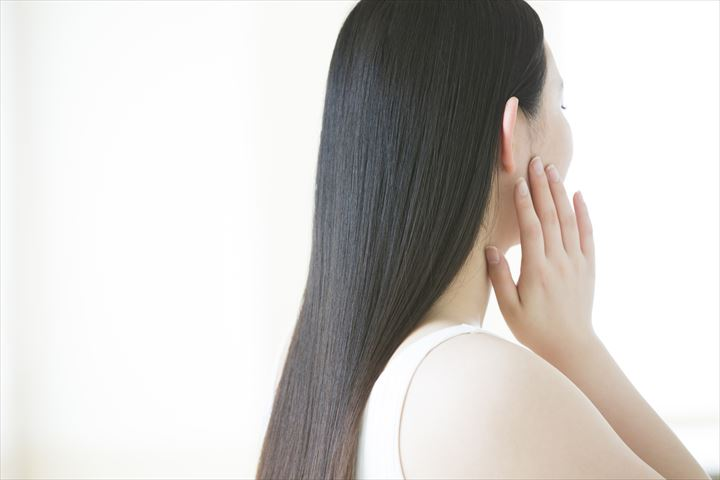 艶のある髪